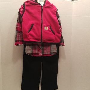 Carhartt  Infant Size 9 Mos.3 Pc Outfit